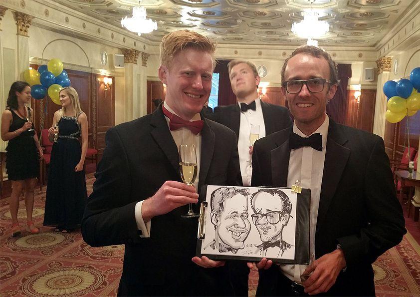 corporate caricatures