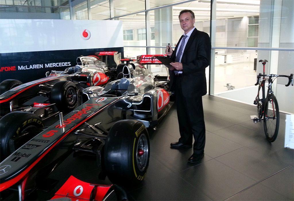 Caricatures for McLaren Formula 1