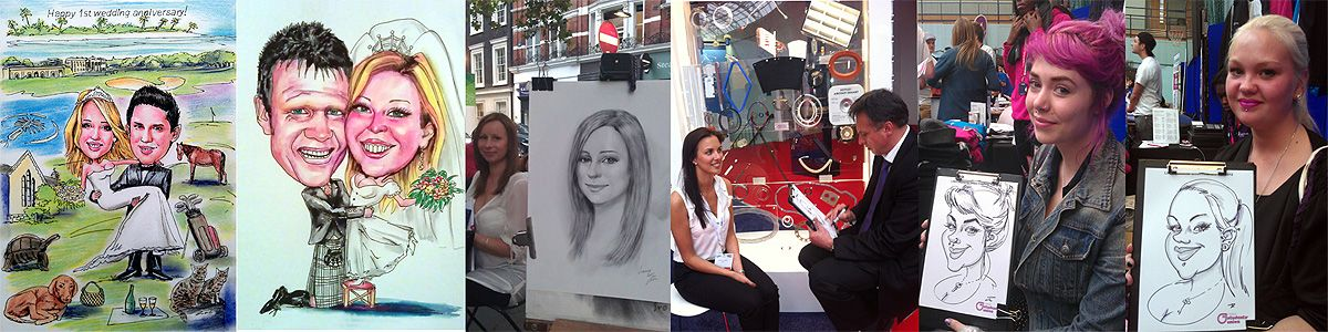 caricaturist London