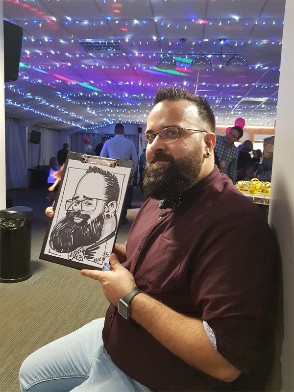 birthday caricaturist