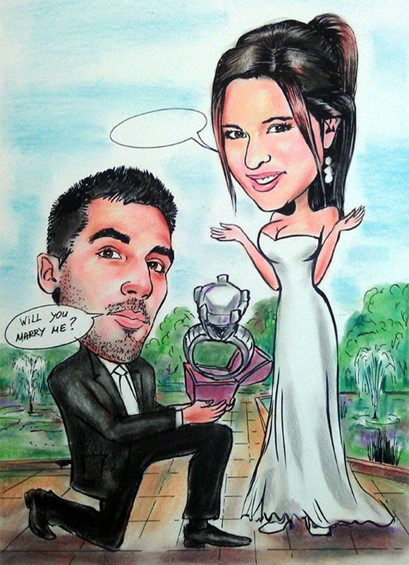 Caricature from photo proposal 2