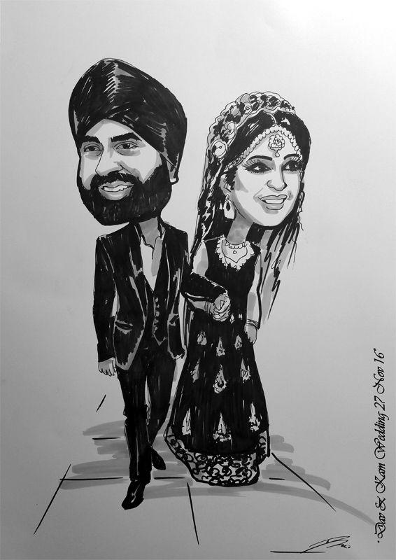 Indian wedding invitation